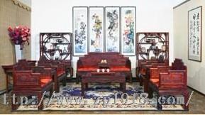 古典与现代的皇林苑红木家具招商中