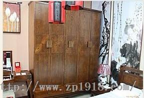 皇林苑菱花纹红木衣柜全国火热招商进行中