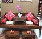 皇林苑中式风格系列罗汉床全国火热招商进行中