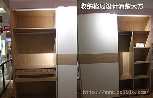 衣柜外挂门安装示意图图片