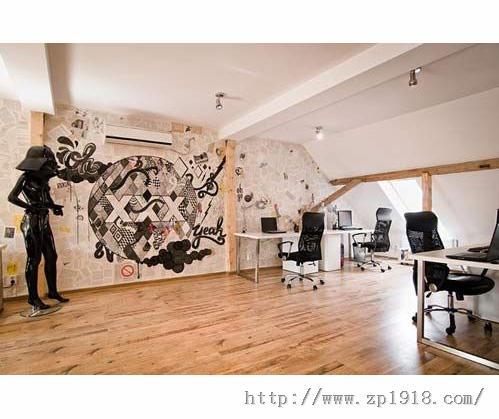 瞠目结舌的办公室 罗马尼亚如家般的写字间