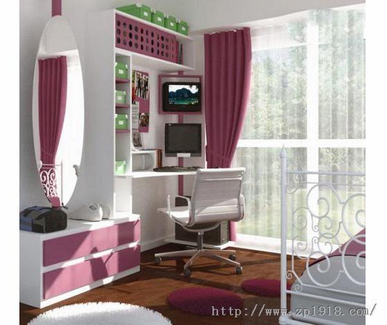最炫田园风 卧室装修效果图 90后女生房间设计图