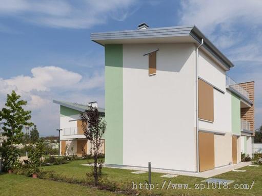 用不同元素组成摩登个性的意大利住宅