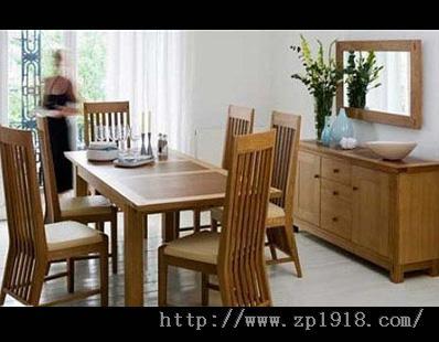 爱的晚宴 10款温馨实木餐桌搭配推荐