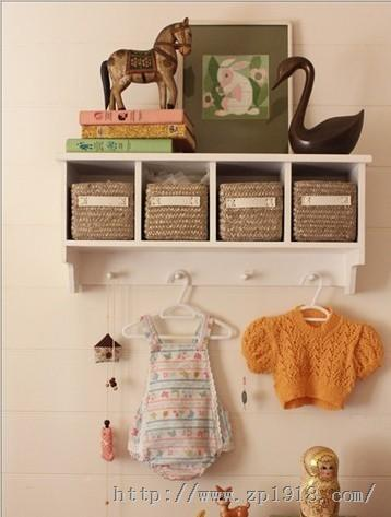 洋溢着温暖气息 温馨幸福的粉色婴儿房