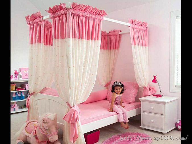 打造粉嫩小女孩闺房的15个好点子