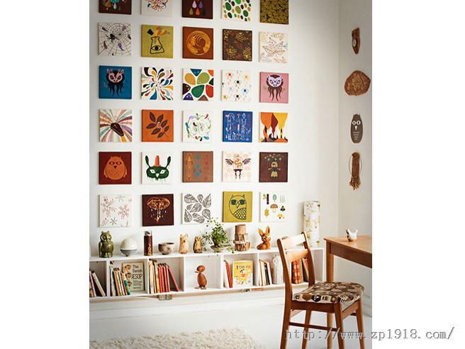 情有独钟的纳维亚风格 视觉系插画师的居室混搭设计