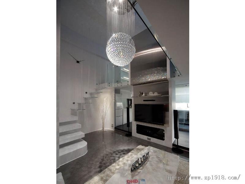 低调奢华风 黑白前卫时尚挑高小豪宅