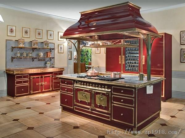 永远不变的经典 百年古典贵族风系统橱柜