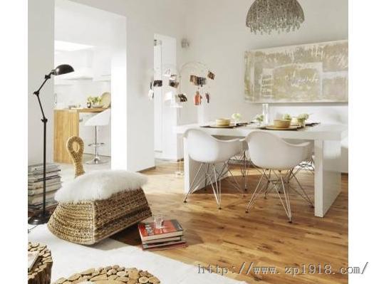 西班牙自然风长形公寓 简约风与乡村风的混搭