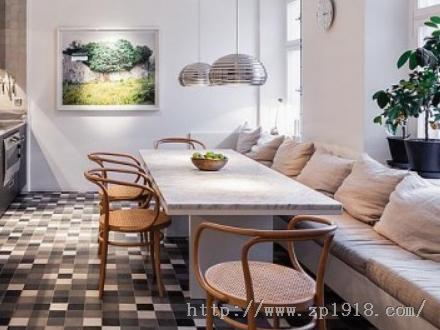 漂亮大型北欧公寓 不一样的复古情调