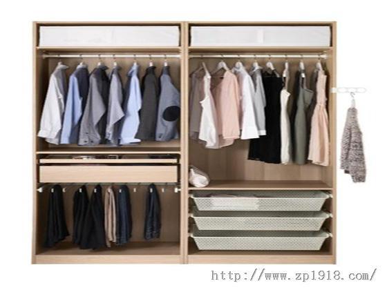 玩转衣柜百变空间