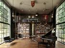 10款不同类型 不同位置的书架家居装饰