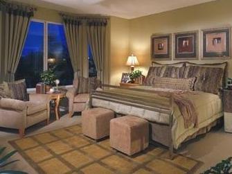 9种戏剧化卧室打造法 统一色调元素舒适助睡眠