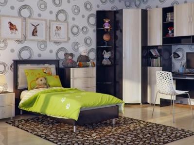 明快鲜亮的儿童房设计 让居家生活不再暗淡