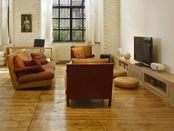 米兰风情 办公居住合二为一的设计感住宅