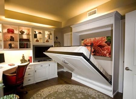 """妙将书房""""塞进""""卧室 节省空间就是如此简单"""