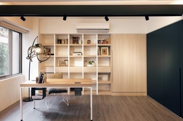 黑白简约的魅力 台湾智能现代化公寓