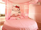 软萌粉色系卧室