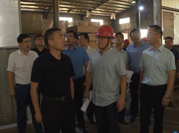 宿迁对泗洪木材加工和家具制造产业转型升级工作开展督导
