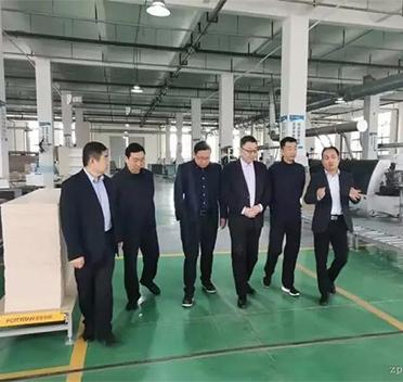政企领导调研河南清丰县家居产业发展