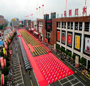 点赞!东阳花园红木家具城成为省五星级文明规范市场